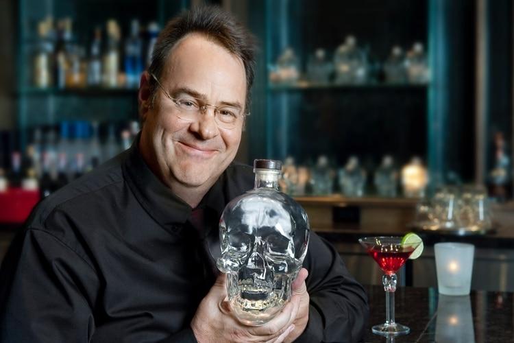 crystal head aurora vodka bottle view