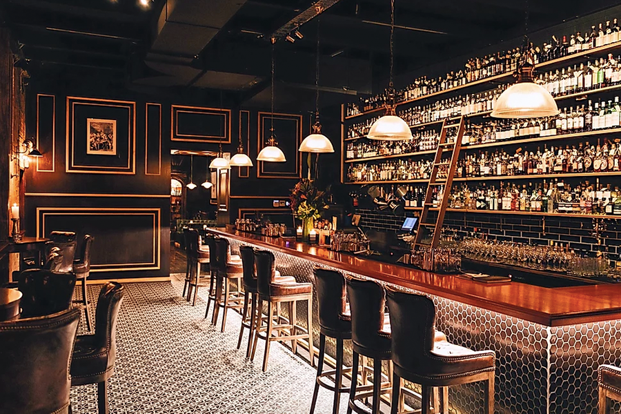 the best whisky bars in brisbane - Death and Taxes