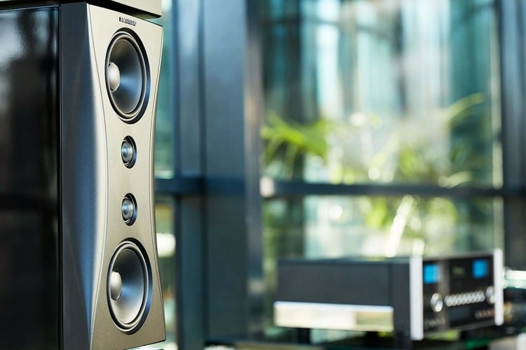 dynaudios evidence loudspeakers solid aluminium framework