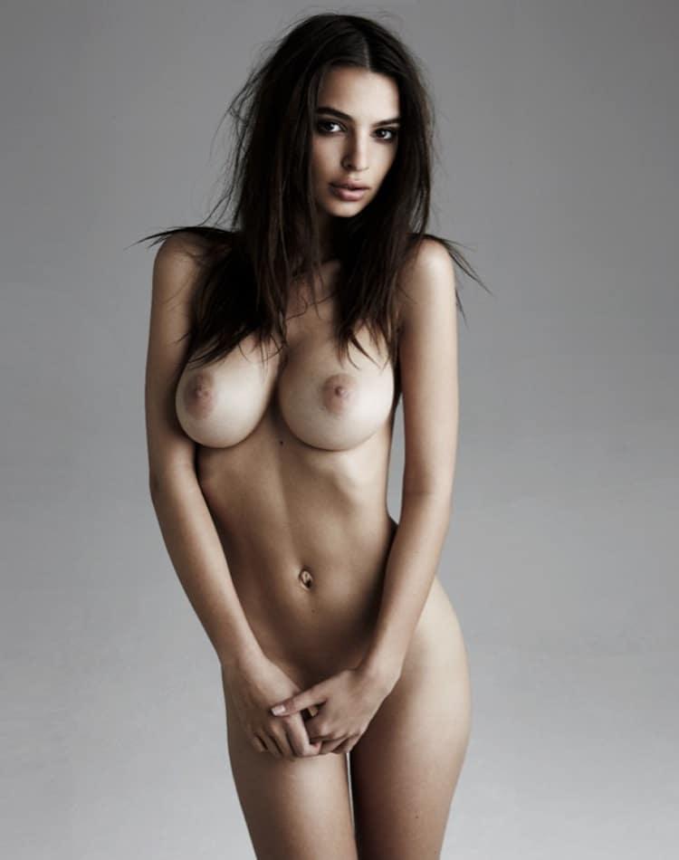 emily ratajkowski sexy looking