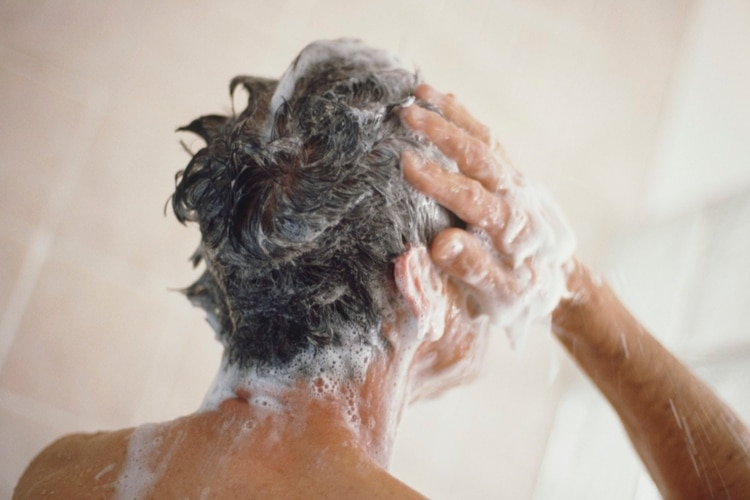 men use shampoo maintain hair style