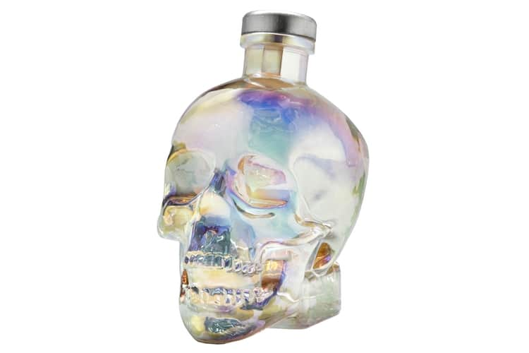 crystal head aurora vodka full bottle