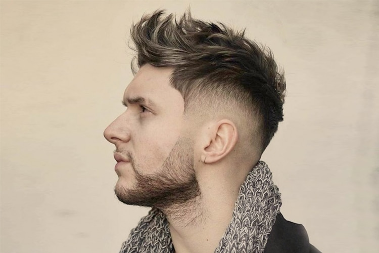 fohawk taper hair fade