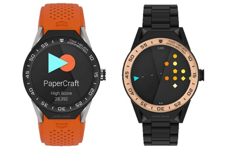 tag heuer papercraft
