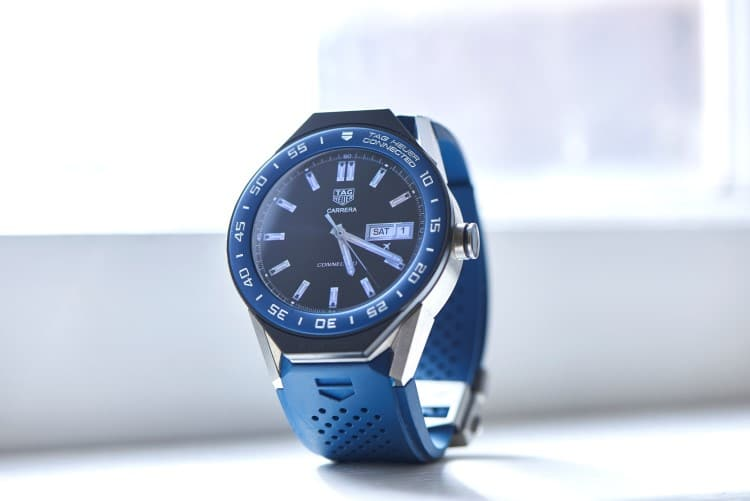 tag heuer on the ground