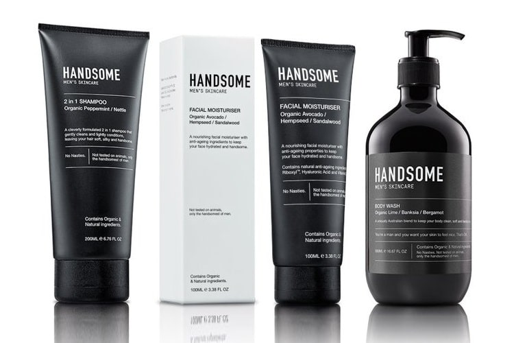 handsome mens skin care