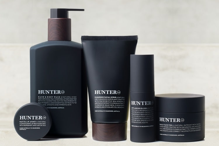 hunter lab grooming skin care product