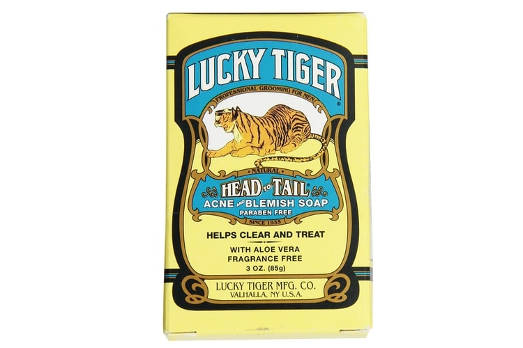 lucky tiger acne blemish soap