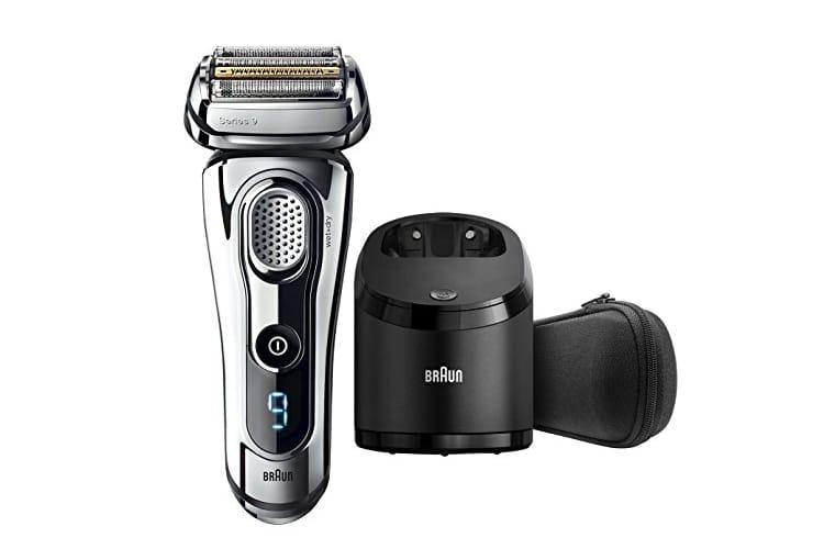 braun series wet dry electric shaver