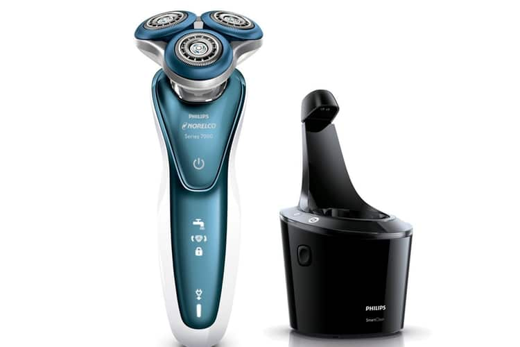 philips norelco electric shaver for sensitive skin