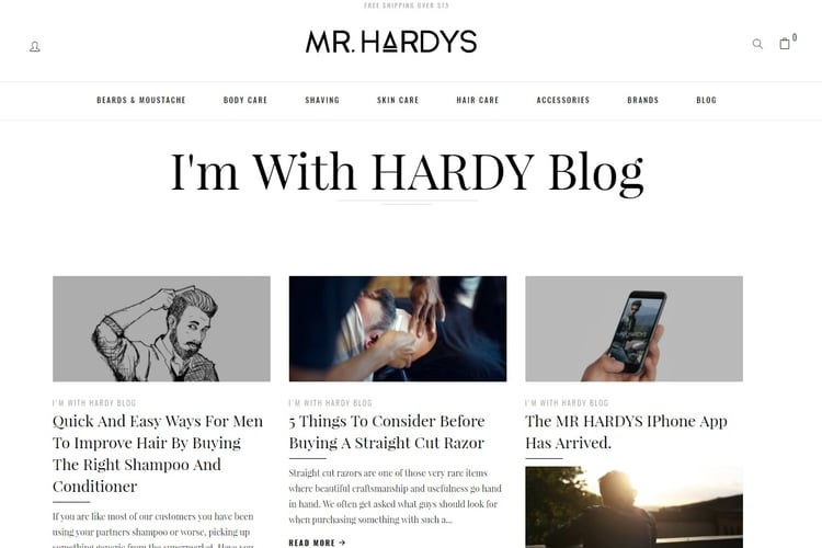 im with hardy blog by mr hardys
