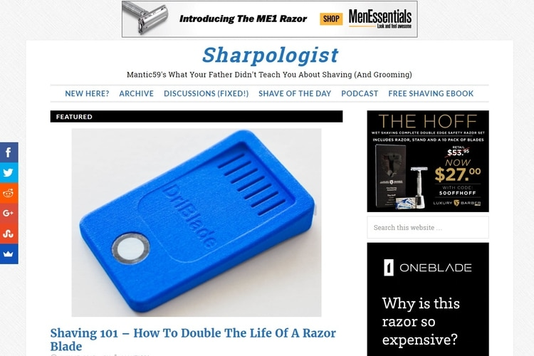 sharpologist grooming blogs