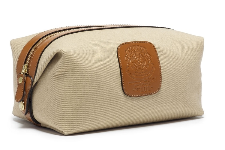 holdall twill travel toiletry bag from ghurka