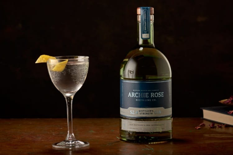 archie rose distiller strength gin