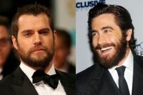 face shape with beard to suit