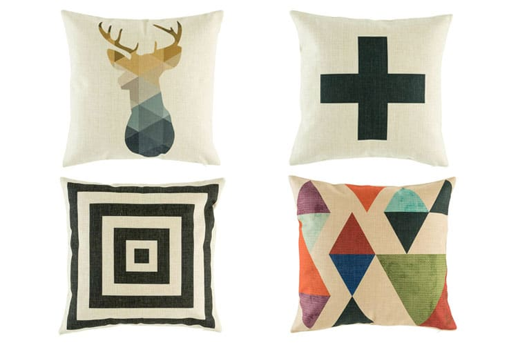 cushions pastel colors