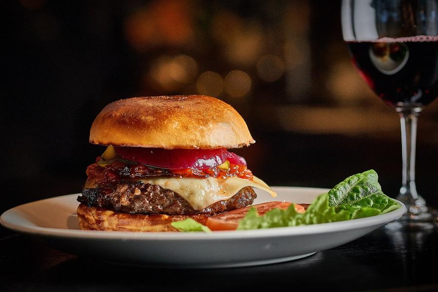 rockpool sydney wagyu beef burger