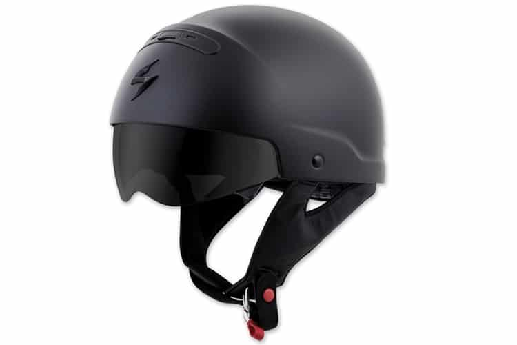 scorpionexo covert motorcycle helmet full black