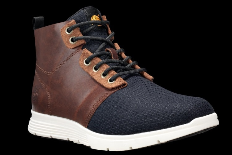 sneaker boot leather vamp