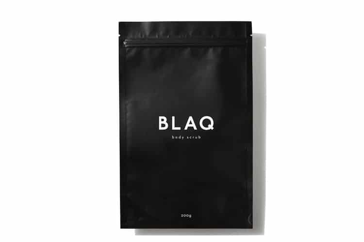 blaq body scrub