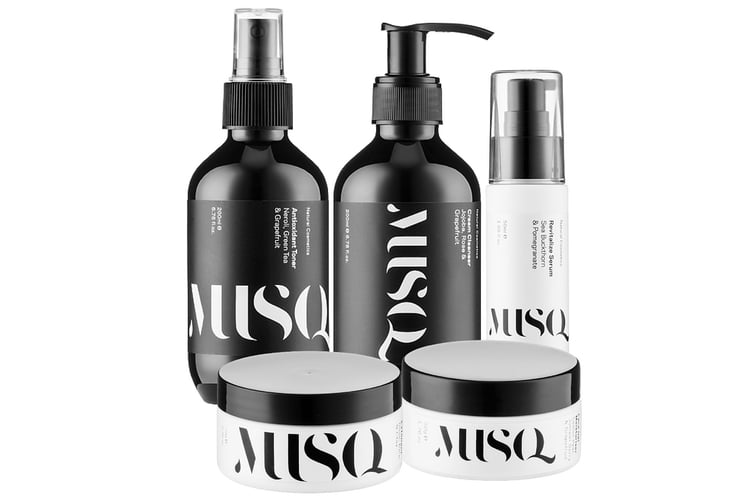 skincare and cosmetics brand musq