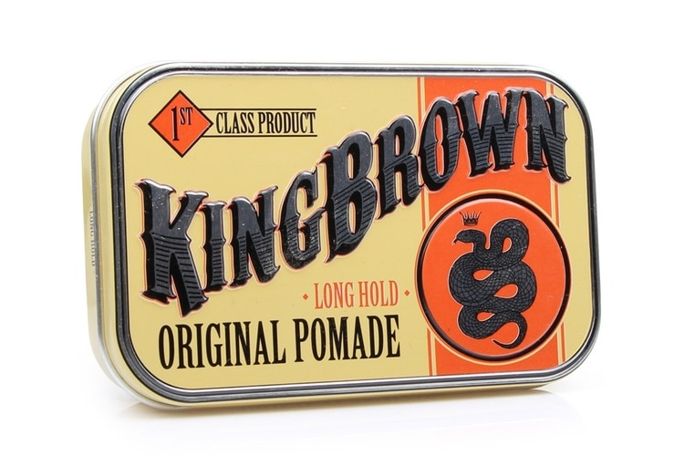 king brown pomade hair product
