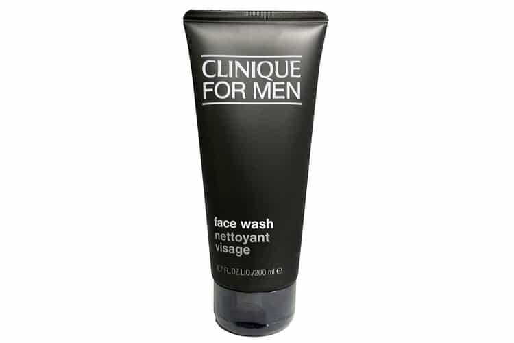 clinique for men face wash