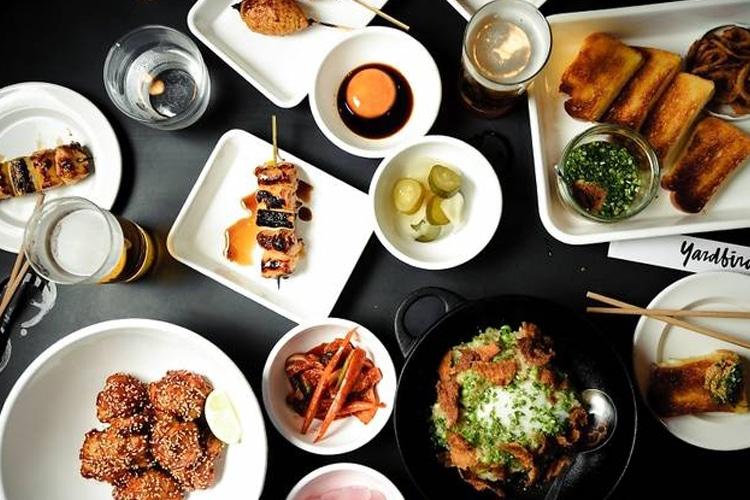 hong kong city yardbird food