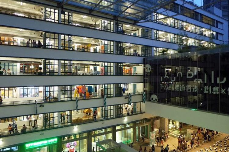 hong kong city pmq shopping mall