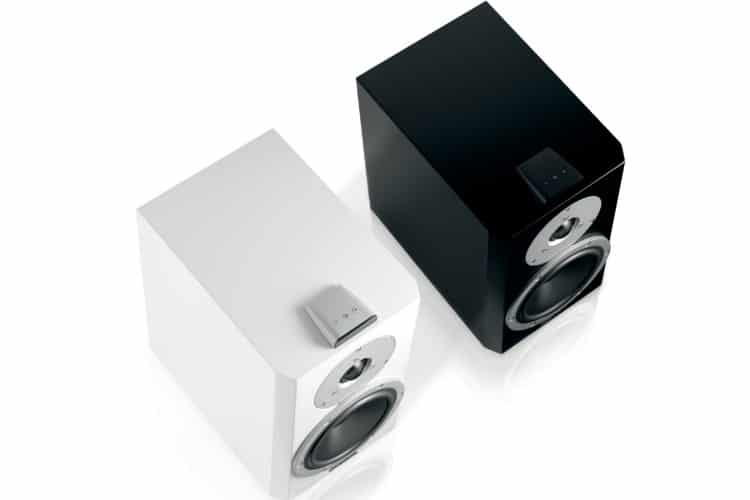 dynaudio xeo loudspeaker front and top side