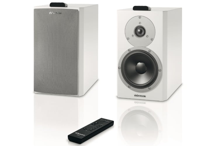 dynaudio xeo loudspeaker front and remote