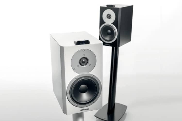dynaudio xeo loudspeaker white satin colour