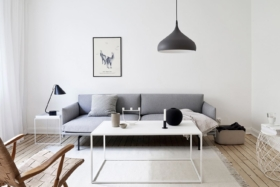how to style a minimalist home