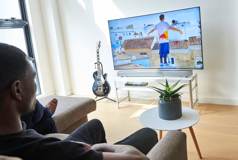 samsungs sound and soundbar connecting tv