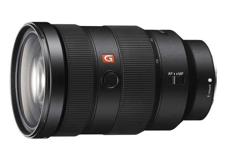 sony fe 24-70mm f/2.8 gm camera lens