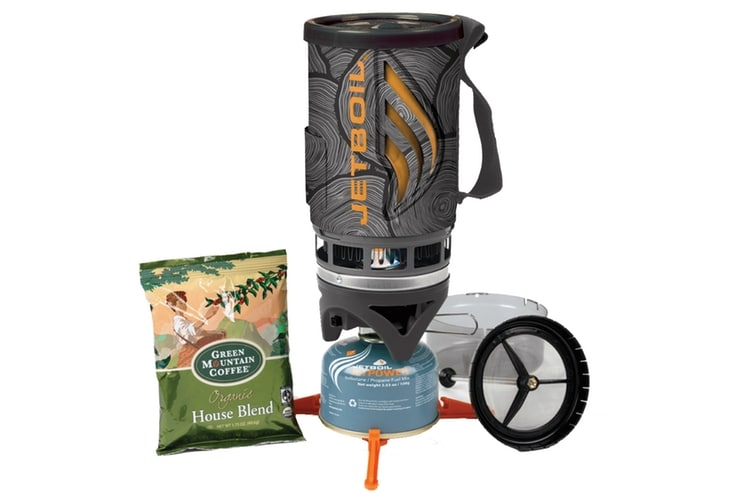 huckberry finds jetboil flash stove french press