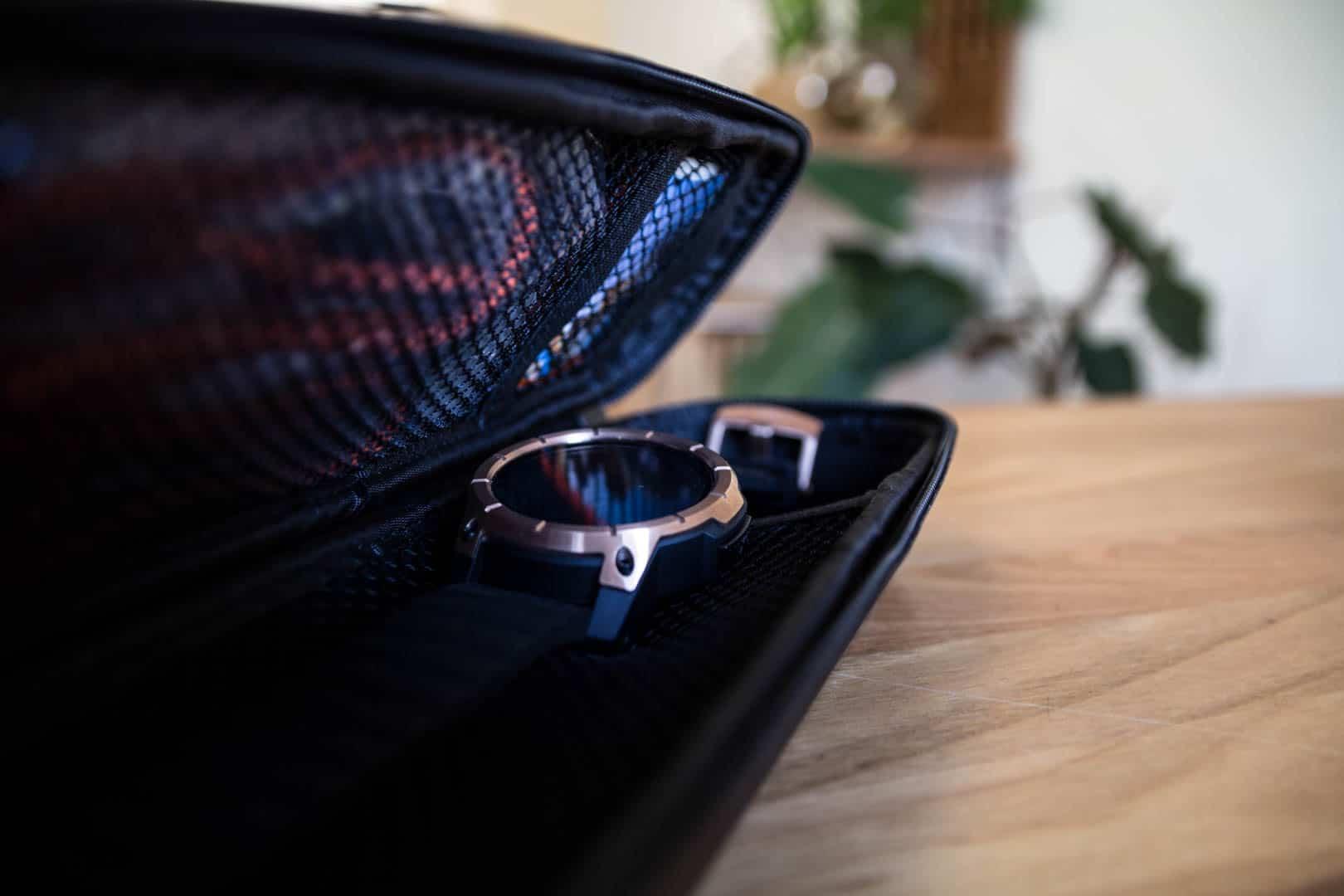 nixon smartwatch in the case