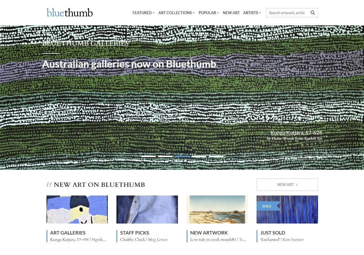 online bluethumb