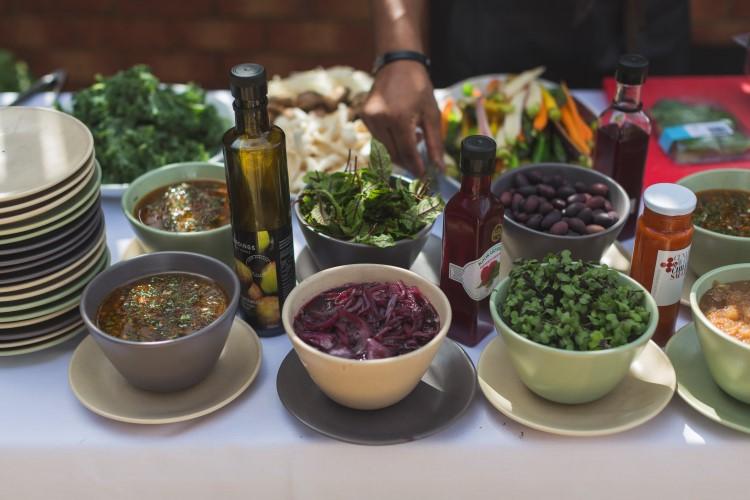 marriott vegetable on the kitchen table