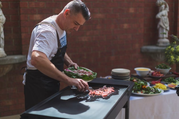 marriott cook prepared special food