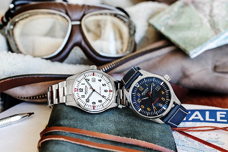 alpina quartz two different watches