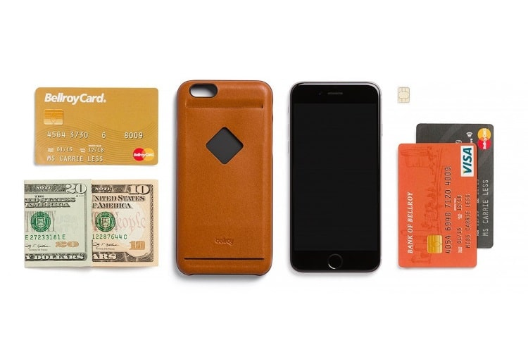 bellroy leather iphone 6s plus phone case