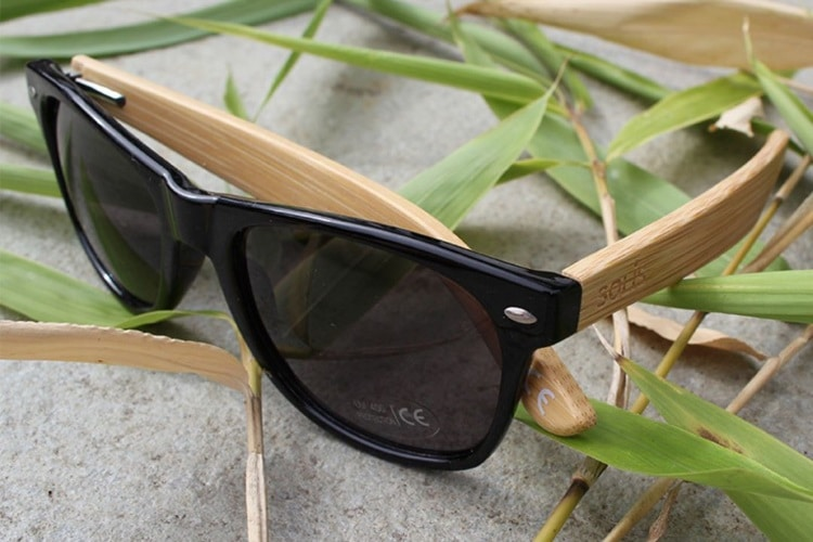 solis bamboo sunglasses