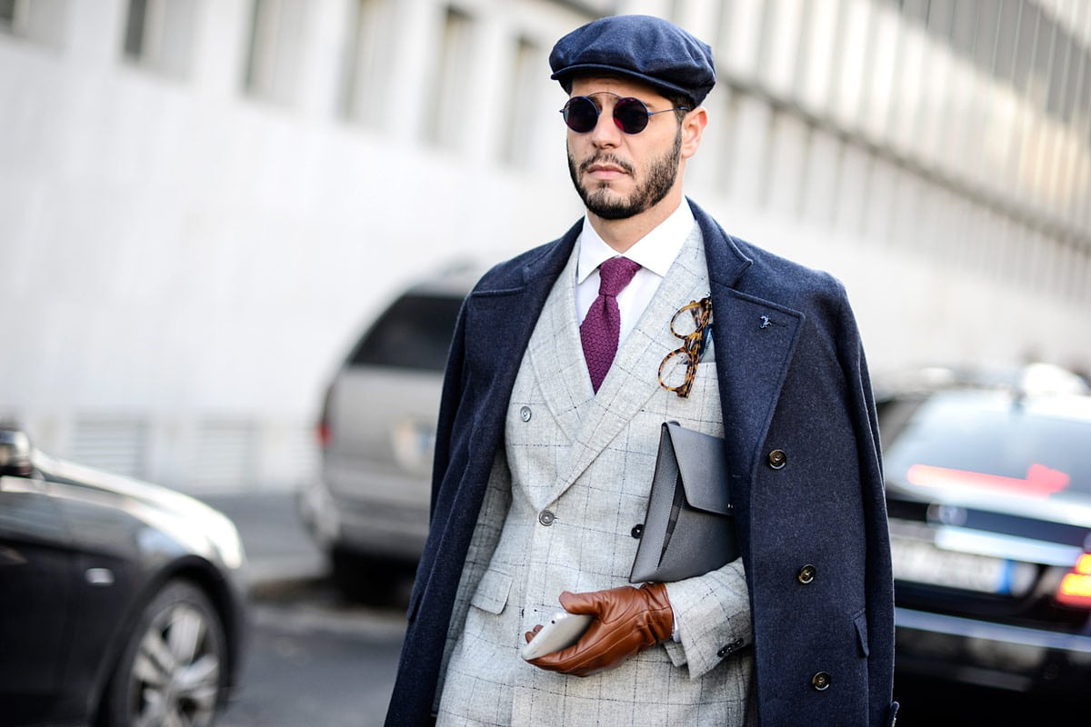 Guide to Wearing Men's Hats With Suits | Man of Many
