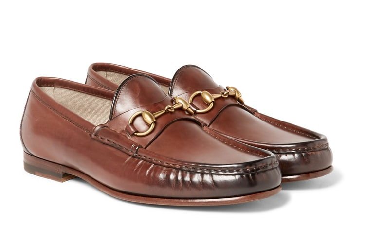 The Gucci Snaffle loafer