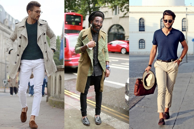 How to wear business casual loafers