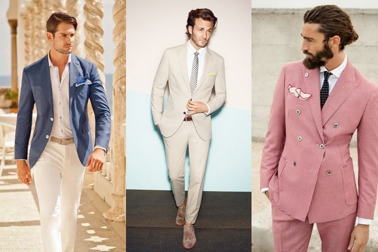 colours of summer suit