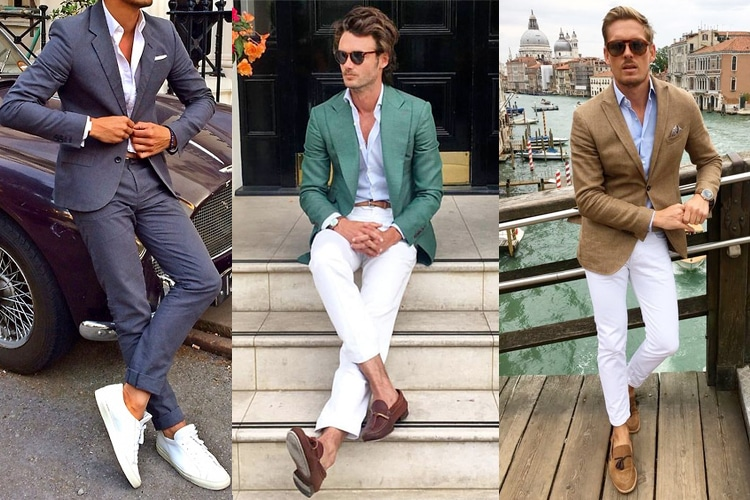 shoes to match your summer suit