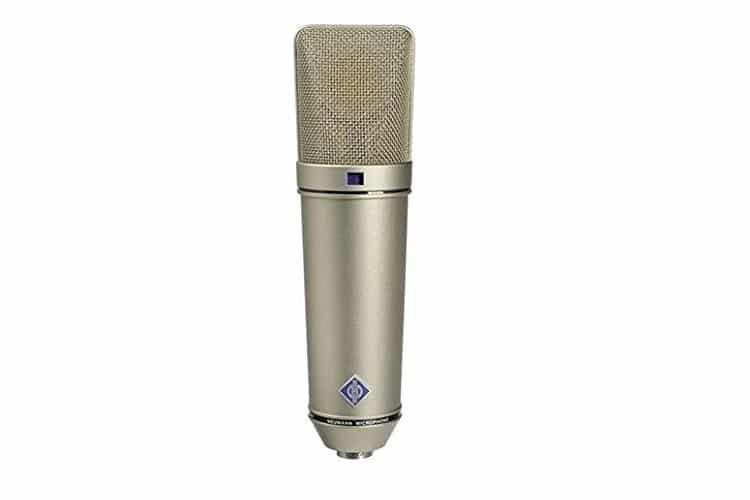 Jacksepticeye neumann u 87 ai switchable studio microphone