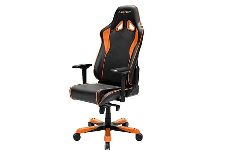 Jacksepticeye orange dxracer sentinel ergo seat office chair
